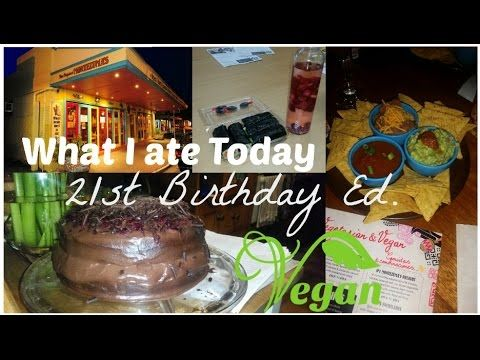 My 21st Birthday! What I ate Today | Vegan in Australia