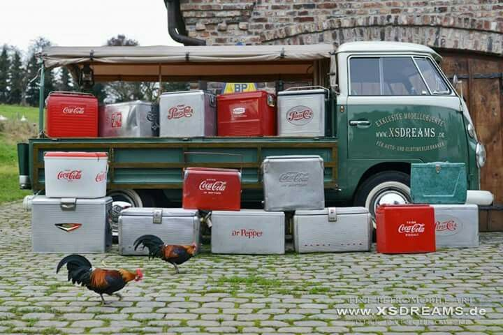 Vw Sc Ice Chest Der Bus Board Pinterest Volkswagen And Vintage Cooler