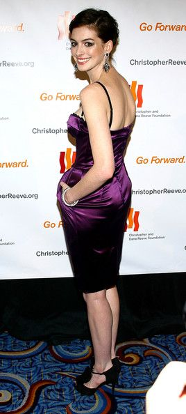 More Pics of Anne Hathaway Corset Dress