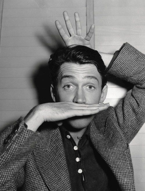 jimmy stewart. I have always loved him. Favorite movie (totally not the christmas one....) Harvey.