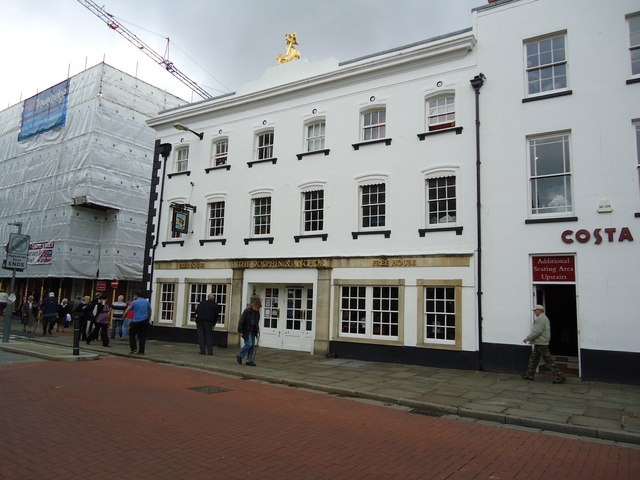 The Dolphin and Anchor Hotel in Chichester.