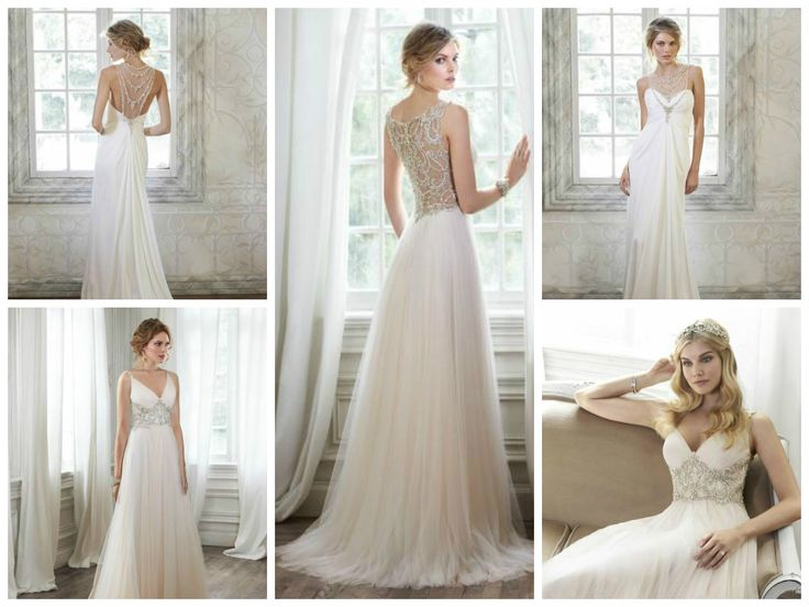 Vzdušné, letné svadobné šaty…Deandra a Phillys: goo.gl/sO5HEq