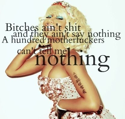 nicki minaj song quotes - Google Search
