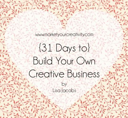 Are you ready to turn your hobby into an income-earning side business? Want to sell on Etsy? Are you interested in turning your passions into profit? Would you like to get paid for doing something you already love to do? Join me for 31 Days of instruction on how to build a creative business.