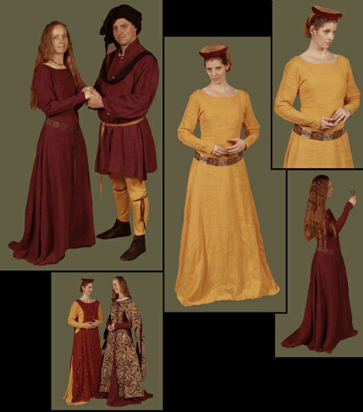 Medieval Clothing and Footwear