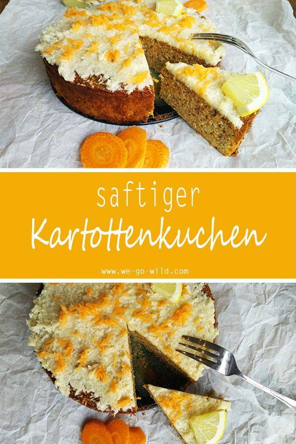 Saftiger Karottenkuchen Ohne Mehl Und Zucker Rezept Karotten Kuchen Karottenkuchen Karottenkuchen Ohne Mehl