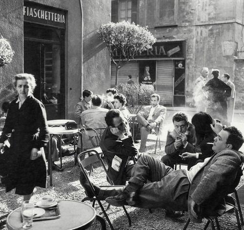 belzeboub: Milan, Italy, 1950s Photo: Ugo Mulas