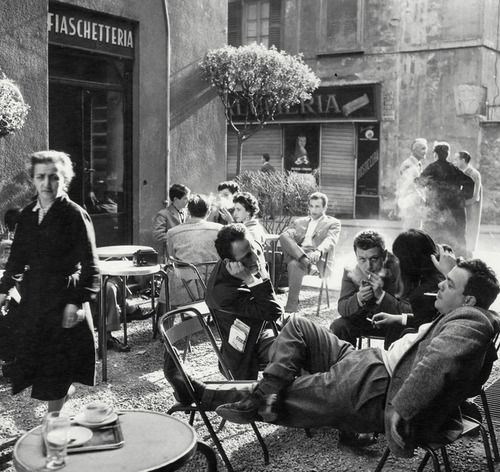 greeneyes55:  Milan Italy 1950s Photo: Ugo Mulas