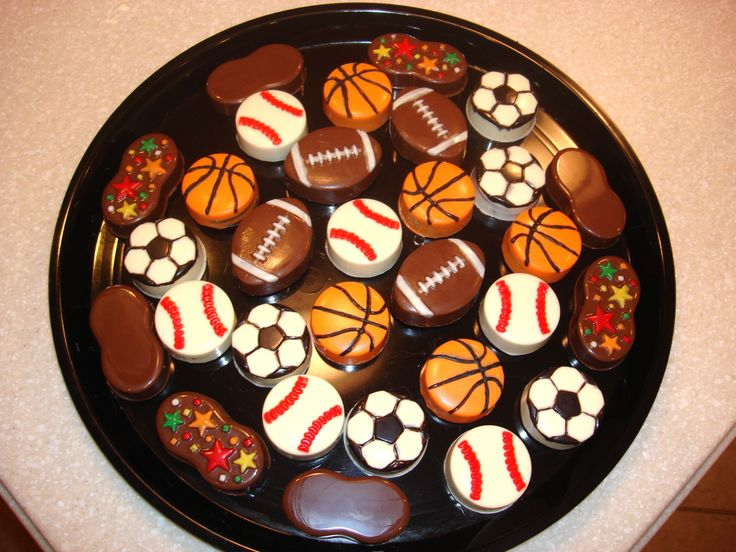 Soccer Chocolate Covered Strawberries