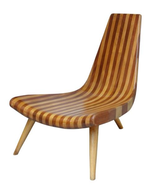 3 feet chair, Joaquim Tenreiro, c. 1947