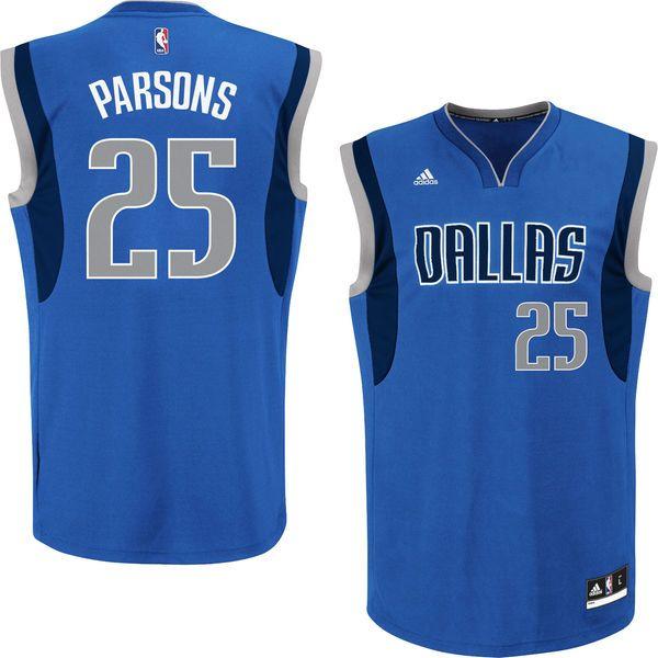 Chandler Parsons Dallas Mavericks adidas Youth Boy's Replica Jersey - Blue - $29.99