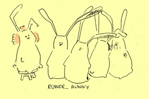 when he got the rumor, that bunny was on coffee break: Coffee Break