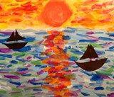 Monet Seascapes:  Artsonia