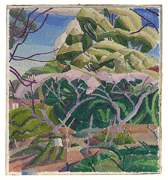 Grace Cossington SMITH, Trees in blossom
