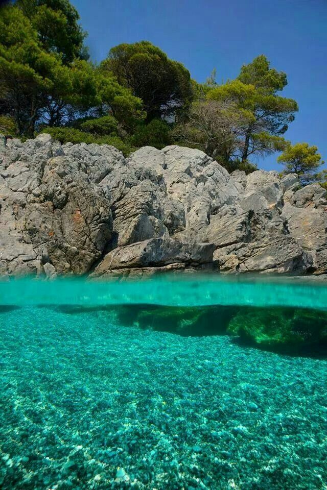 Skopelos Island,Greece.