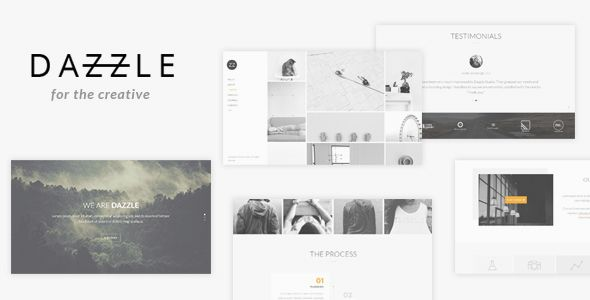 Dazzle - Portfolio Theme for Creative Professionals WordPress / Creative / Portfolio by DeliciousThemes