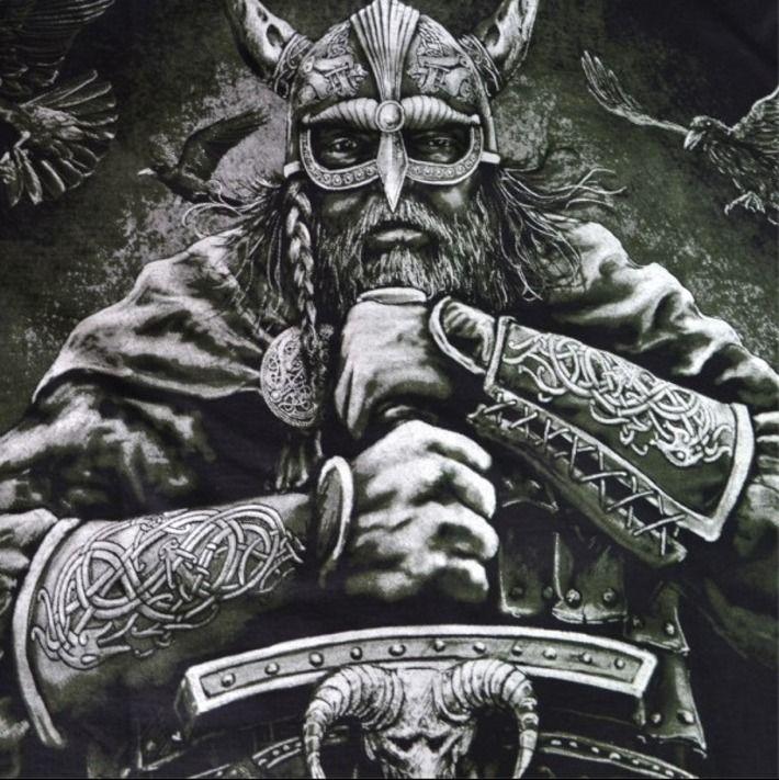 Motyw fighterski na koszulce 'Viking - Boat' HD ---> Streetwear shop: odzież uliczna, kibicowska i patriotyczna / Przepnij Pina!