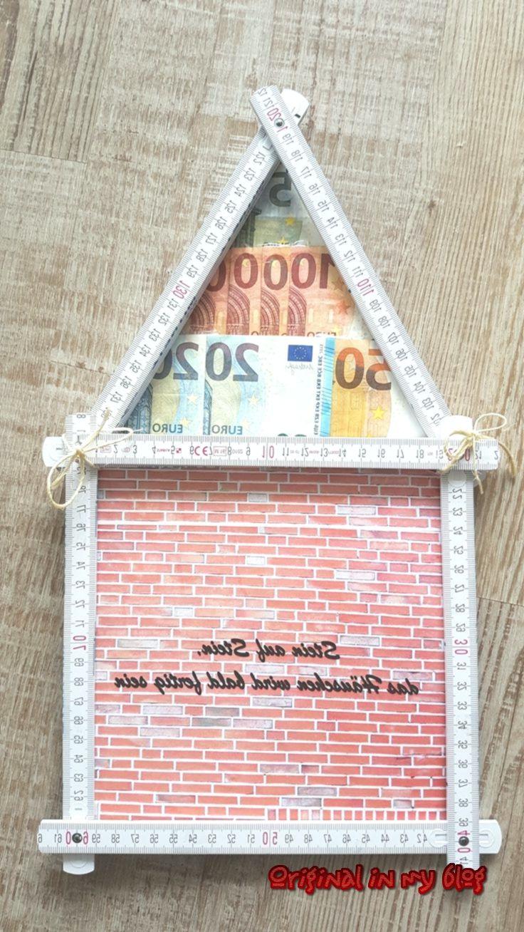 Geschenkideen für Mann - Geldgeschenk Geschenk Geld Haus ...