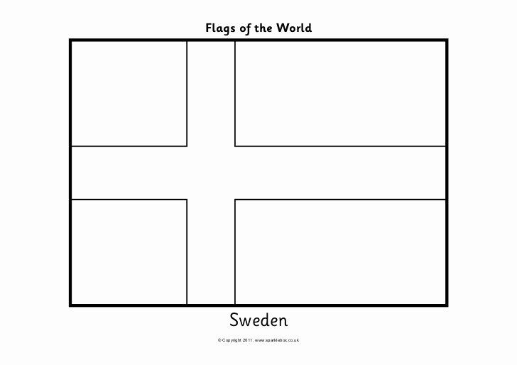 Sweden Flag Coloring Page In 2020 Unique Flags Sweden Flag