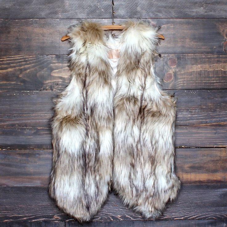 wild child faux fur vest - shophearts - 1