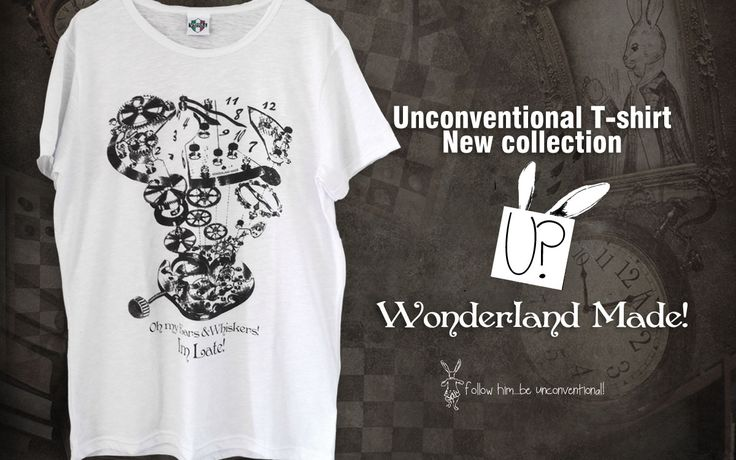 New #Unconventional #tshirt #Wonderland made!