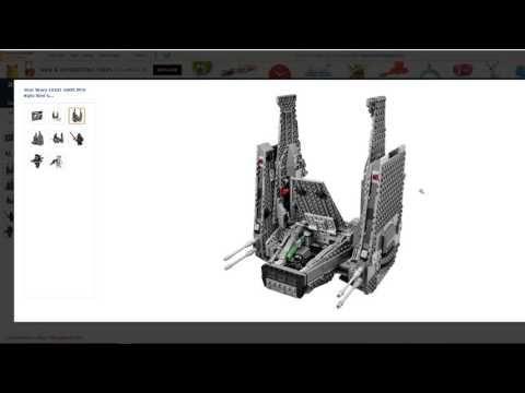 LEGO Star Wars Kylo Ren's Command Shuttle Building Kit Review