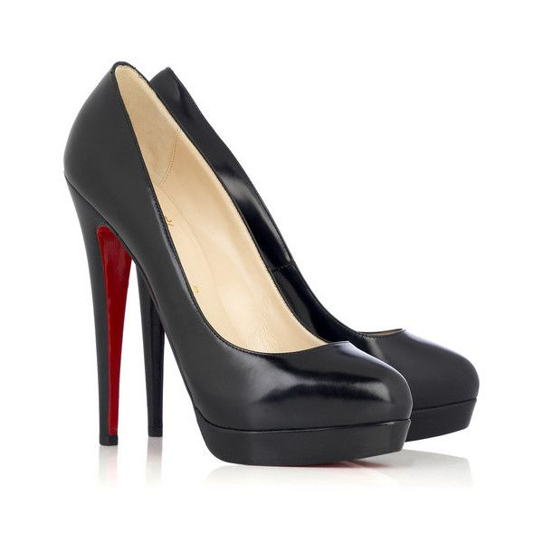 Daily Lust Christian Louboutin Alti Leather Pumps ❤ liked on Polyvore featuring shoes, pumps, heels, buty, sapatos, genuine leather shoes, christian louboutin pumps, leather pumps, real leather shoes and christian louboutin