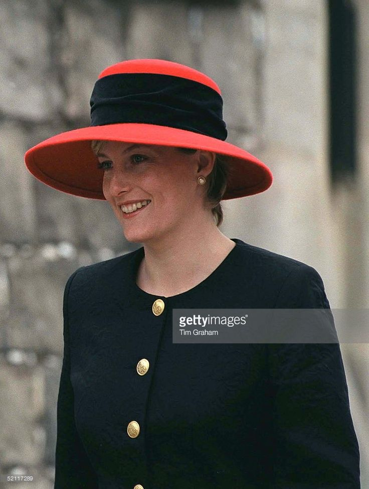 Sophie Rhys-jones Attends The Easter Service At Windsor (Photo by Tim Graham/Getty Images)