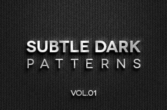Volume 1 of our subtle dark texture patterns background with 4 dark tile patterns ideal to create a subtle and original...
