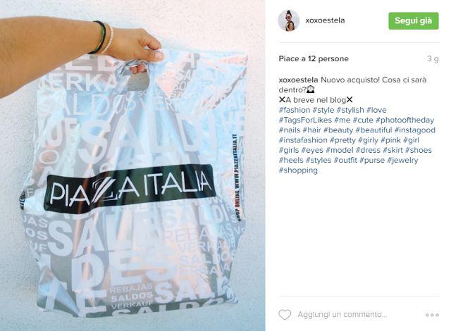 XOXOESTELA: #MYNEWBABE - PETIT HANDBAG FROM PIAZZA ITALIA