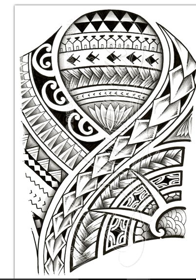 17 best images about 26 best polynesian tattoo designs on