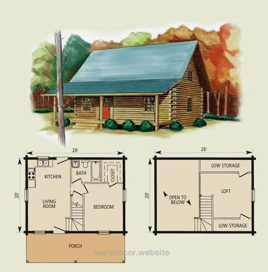 25 Best Ideas About Cabin Plans With Loft On Pinterest