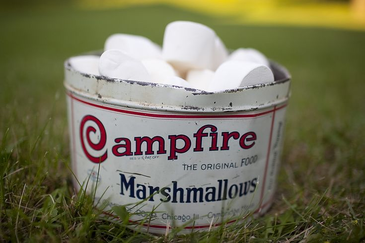 campfire marshmallows | Just Because | Pinterest
