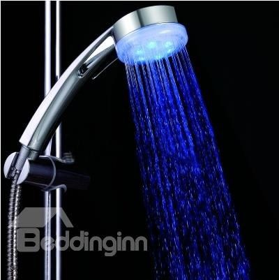Amazing color Changing LED  A Grade ABS Chrome Finish  Hanldheld Shower head