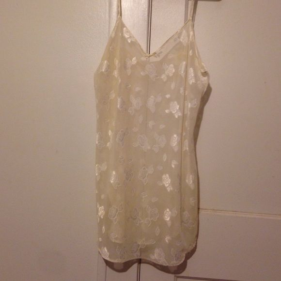 Petra Fashions Lingerie Cream sheer lingerie Petra Fashions Intimates & Sleepwear