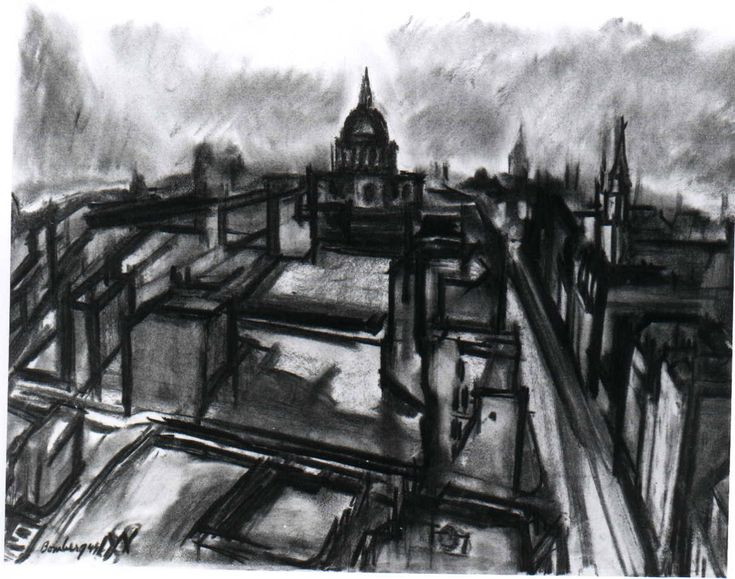 David Bomberg: Evening in the City of London