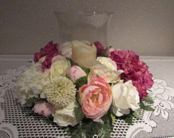 Table Top de mariage / unité bougie Decor par BlossomBouquets