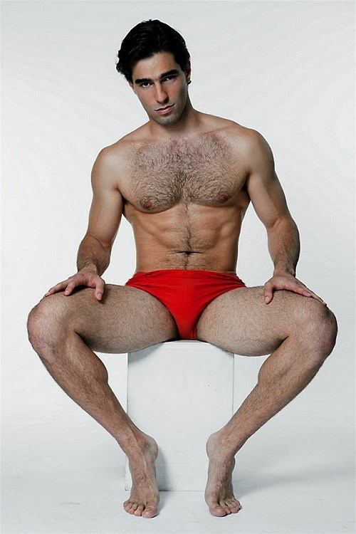 Hotnaked hairy male model