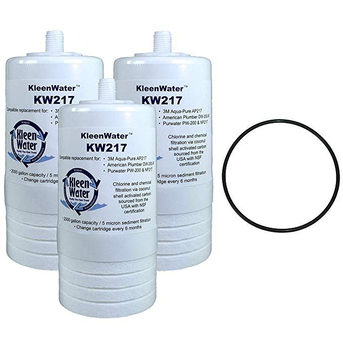 Kleenwater Ap217 Aqua Pure Compatible Filter 3 Aqua Pure Ap200 Water Filter System Replacement O Ring 1 Review Water Filters System Pure Products Water Filter