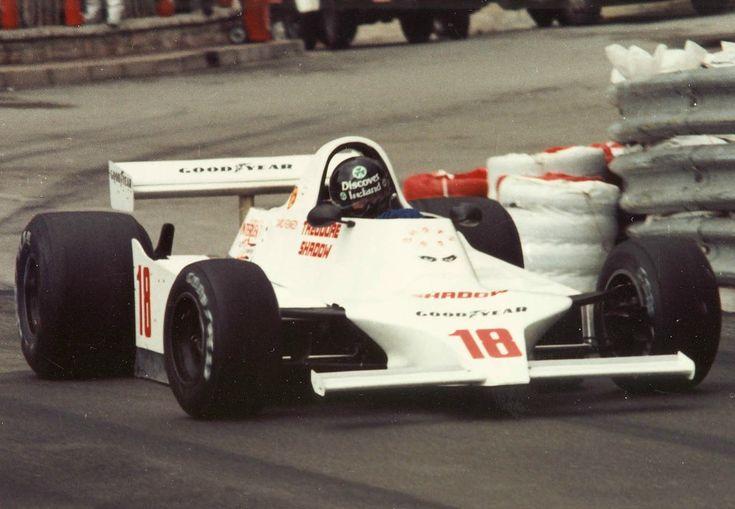 David Kennedy - Shadow DN11 Ford Cosworth DFV - Theodore Shadow - XXXVIII Grand Prix Automobile de Monaco - 1980 World Championship for Drivers, round 6