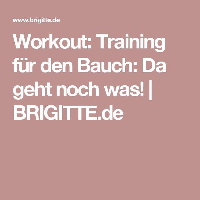 Workout: Training für den Bauch: Da geht noch was!   BRIGITTE.de