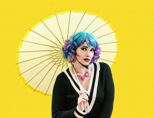 Berry Fizz - Black Candy Fashion Wig - £19