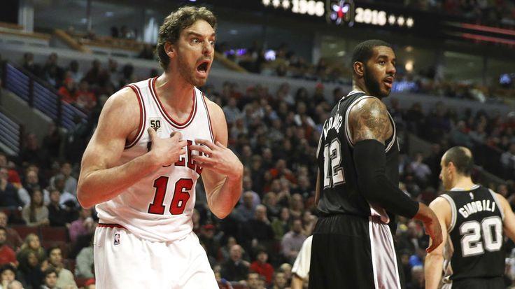 Bulls vs. Spurs