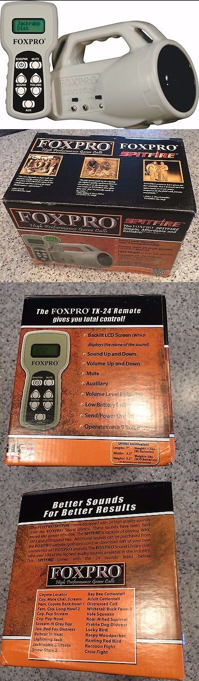 Game Calls 36252: Foxpro Spitfire Predator Caller With Remote Control, Brand New In Box -> BUY IT NOW ONLY: $134.99 on eBay!