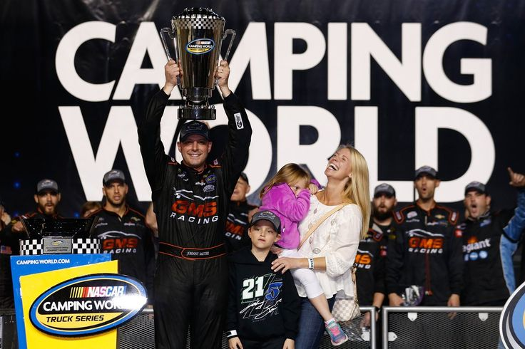 Johnny Sauter wins the Truck Series Championship!