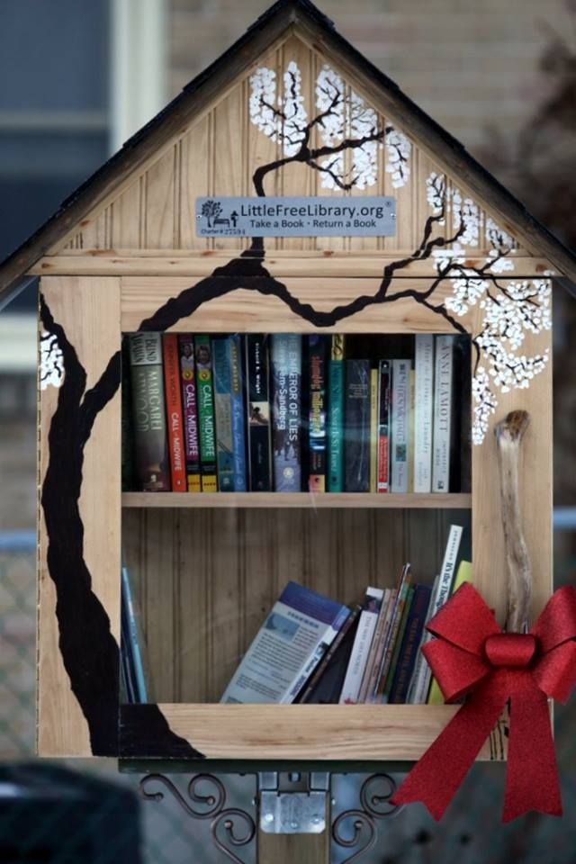 Little Free Library #27594 Peterborough, Ontario, Canada.                                                                                                                                                                                 More