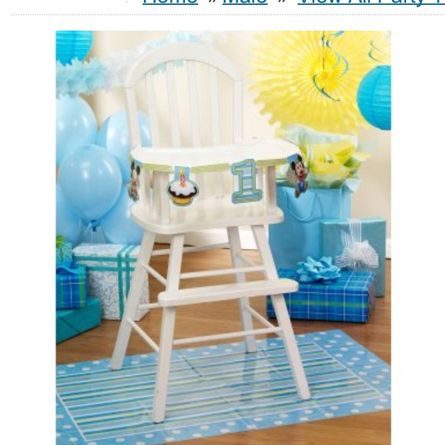 127 best 1st Birthday Party Baby Mickey images on Pinterest