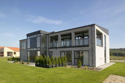 Self build, Denmark. Using the Rationel Aldus range.