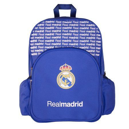 Real Madrid Backpack - Multi-Compartment Bag, White