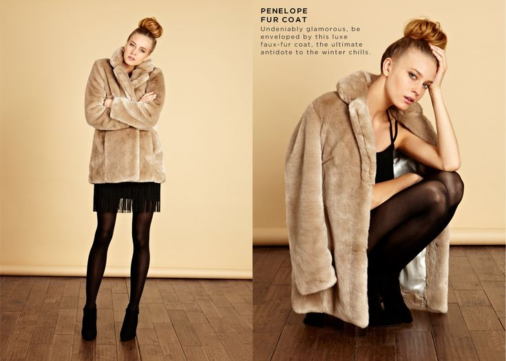 1000  images about Faux fur coats. on Pinterest | Winter fashion